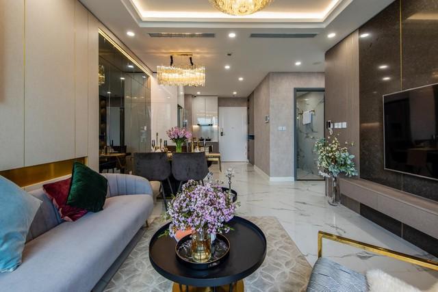Chiêm ngưỡng căn hộ mẫu như khách sạn 5 sao của Sunshine City Sài Gòn - Ảnh 1.