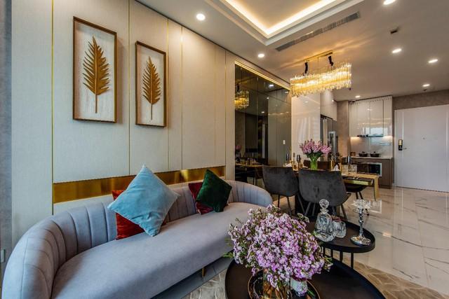 Chiêm ngưỡng căn hộ mẫu như khách sạn 5 sao của Sunshine City Sài Gòn - Ảnh 3.