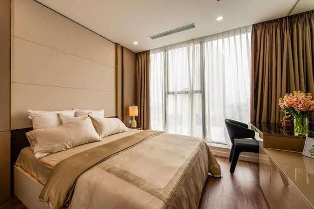 Chiêm ngưỡng căn hộ mẫu như khách sạn 5 sao của Sunshine City Sài Gòn - Ảnh 5.