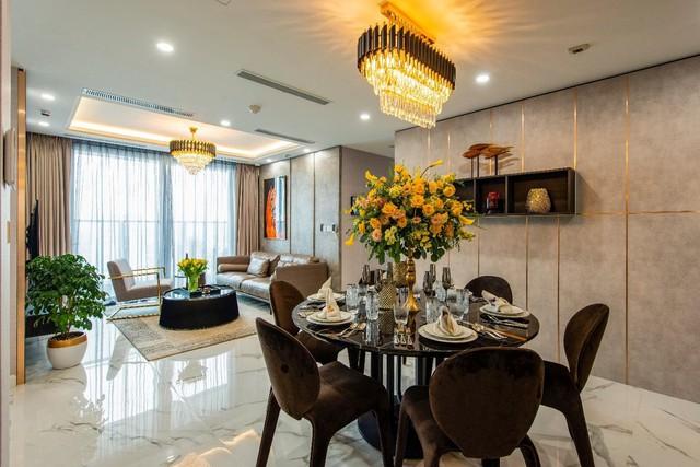 Chiêm ngưỡng căn hộ mẫu như khách sạn 5 sao của Sunshine City Sài Gòn - Ảnh 10.