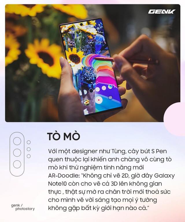 Những cung bậc cảm xúc khi lần đầu trải nghiệm những tính năng chỉ có trên Galaxy Note10 - Ảnh 2.