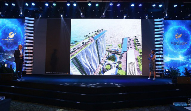 Bùng nổ ngày ra quân của dự án Sunshine Marina Nha Trang Bay - Ảnh 1.