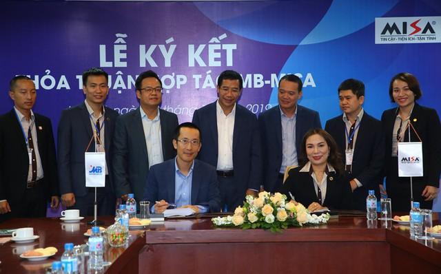 MB và MISA ký kết thỏa thuận hợp tác chiến lược - Ảnh 1.