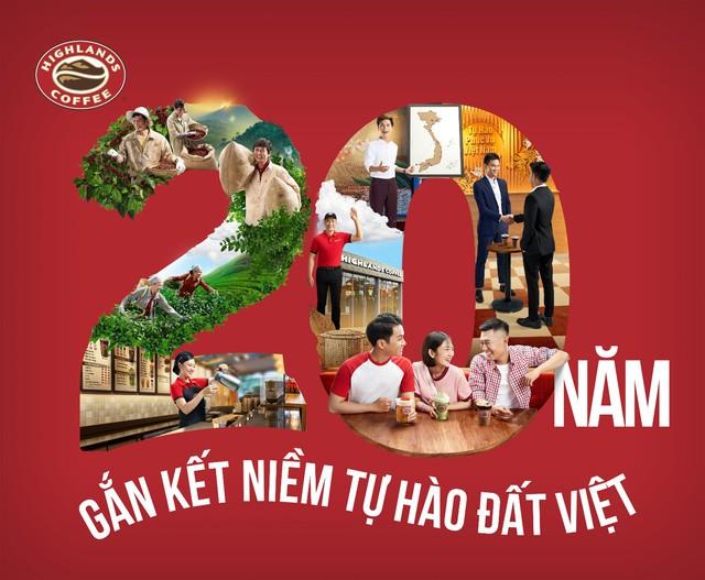 """MV """"20 năm gắn kết niềm tự hào đất Việt"""" của Highlands Coffee vượt mốc 15 triệu view - ảnh 1"""