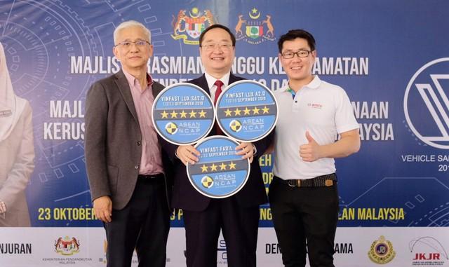 VinFast đạt chứng nhận an toàn ASEAN NCAP 5 sao cho Lux SA2.0, Lux A2.0 và 4 sao cho Fadil - Ảnh 3.