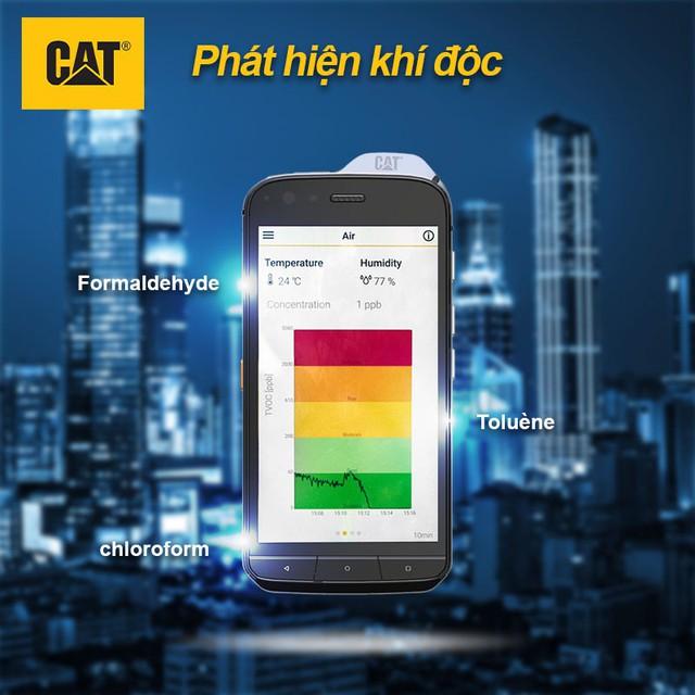 """Cộng đồng YouTuber Việt phát cuồng vì chiếc điện thoại """"ngửi"""" được chất độc hại CAT Phone! - Ảnh 4."""