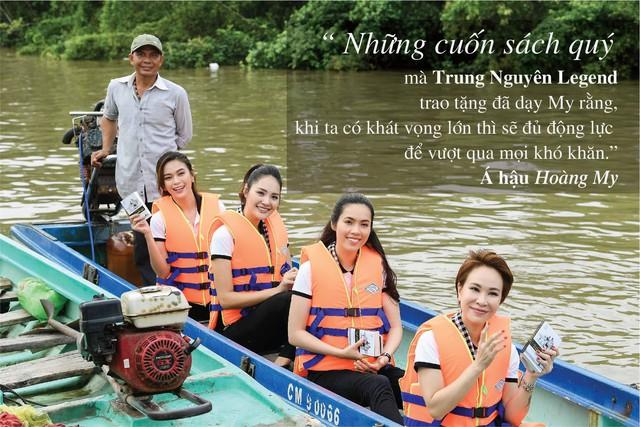 Những câu nói ấn tượng của người đẹp Việt khi tặng sách tại Đồng bằng Sông Cửu Long - Ảnh 6.
