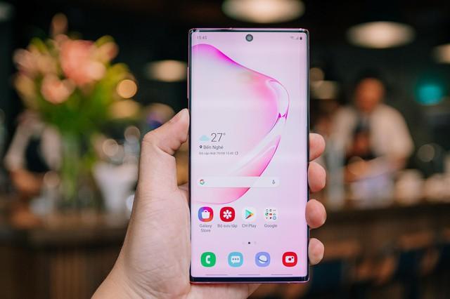 Danh hiệu đứng đầu phân khúc smartphone dành cho pro năm 2019 khó thoát khỏi tay Samsung? - Ảnh 1.