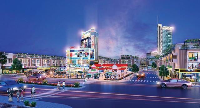 Những hình ảnh ấn tượng của Hana Garden Mall - Ảnh 2.