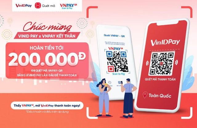 """VNPAY bắt tay với Ví điện tử VinID Pay: từ nay các """"tín đồ"""" thanh toán mã QR có thêm một kênh mới - Ảnh 1."""