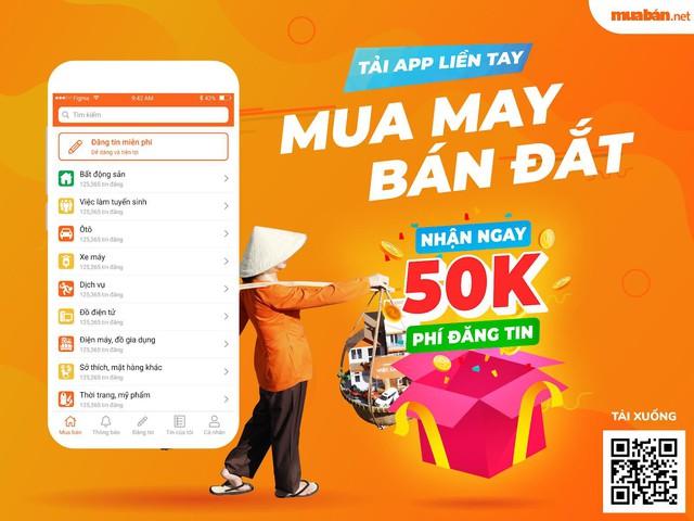 Ra mắt app Mua Bán phiên bản mới: Điểm sáng trong phong cách phục vụ khách hàng - Ảnh 1.