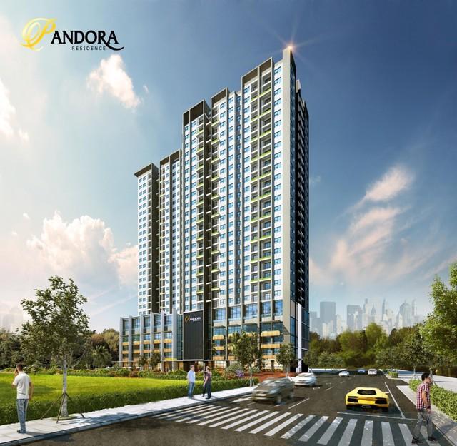 """Soi"""" tiến độ dự khu vực Thanh Xuân: Pandora 53 Triều Khúc cất nóc - Ảnh 1."""
