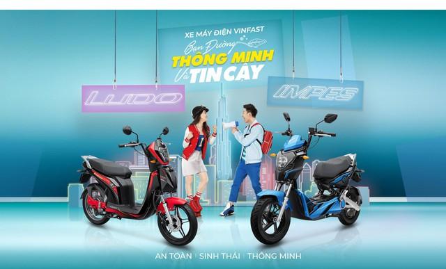 """VinFast Impes và Ludo - Bộ đôi xe máy điện """"quốc dân"""" của Việt Nam - Ảnh 2."""