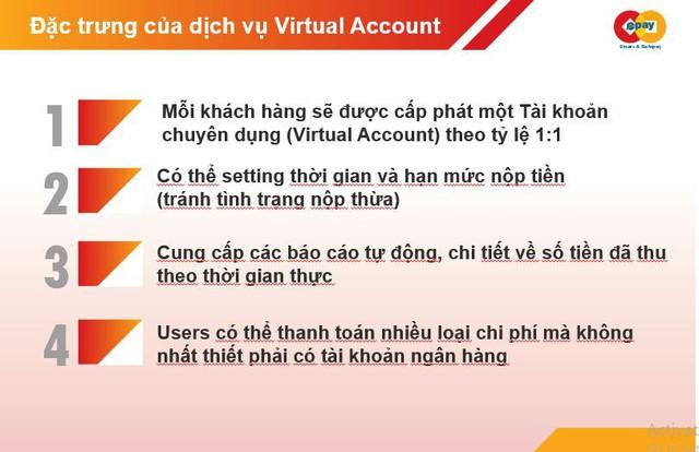 Dịch vụ Virtual Account – giải pháp vì một xã hội không tiền mặt - Ảnh 2.
