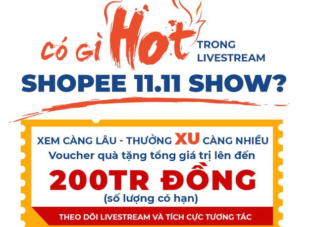 """Tóc Tiên, Đức Phúc cùng dàn sao Việt khuấy đảo Shopee 11.11 Siêu Sale, bạn còn chờ đợi gì mà không """"quẩy"""" cùng! - ảnh 2"""
