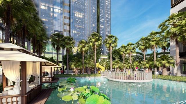 Sunshine Group triển khai tổ hợp resort giữa hồ nhân tạo lớn bậc nhất Sài Gòn - Ảnh 1.