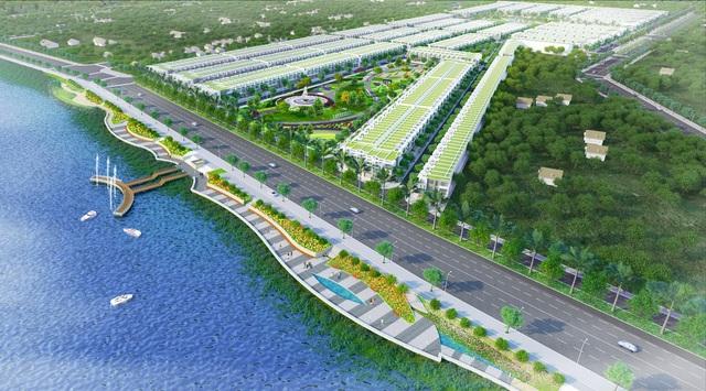 Nhà phố ven sông Cần Giuộc phát triển sôi động cùng hạ tầng khu Nam - Ảnh 2.