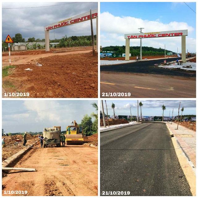 Đất Xanh Central cập nhật tiến độ dự án Tân Phước Center - Ảnh 1.