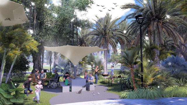 Ấn tượng với những điều đặc biệt chỉ có tại Eco Green Saigon - Ảnh 1.