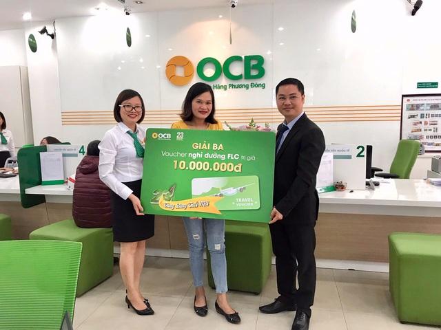 OCB tặng thưởng trị giá 7 tỷ đồng - Ảnh 1.