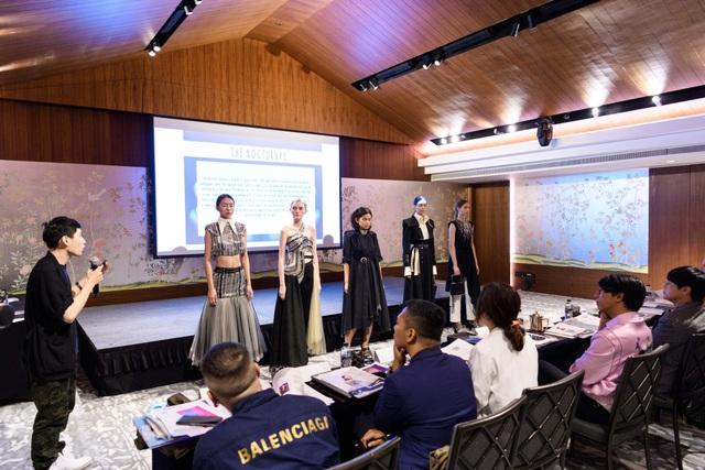 Nhà thiết kế Việt Nam đoạt giải cao trong cuộc thi Thiết kế thời trang châu Á tại Singapore - ảnh 6