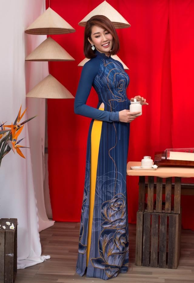 Thúy Ngân, Dương Cẩm Lynh dịu dàng khoe sắc trong BST Ước Mơ - Thái Tuấn - ảnh 4