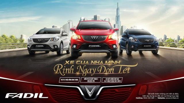 VinFast tung ưu đãi khủng cho khách hàng mua xe Fadil: Miễn phí lãi vay 2 năm đầu tiên - Ảnh 1.