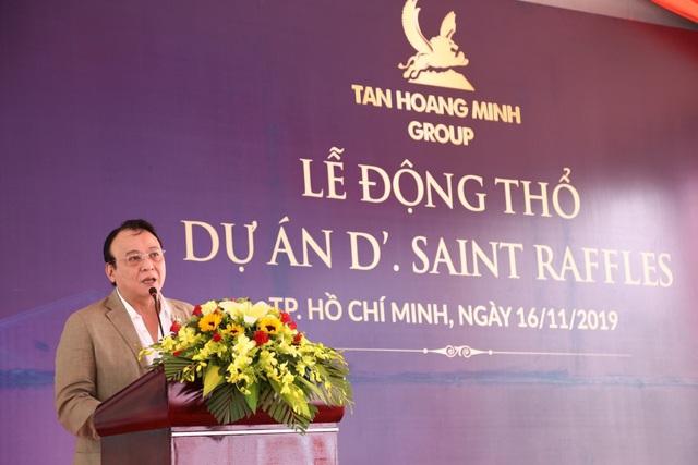 Tân Hoàng Minh động thổ toà cao ốc văn phòng tại đường Nguyễn Thị Minh Khai - Ảnh 1.