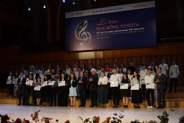"""Tài năng trẻ âm nhạc Việt """"thỏa sức đam mê"""" với học bổng âm nhạc Toyota - ảnh 1"""