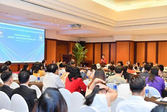 """Doanh nhân Bùi Thanh Hương: """"Người Việt Nam cần phải ưu tiên dùng hàng Việt Nam"""" - Ảnh 2."""