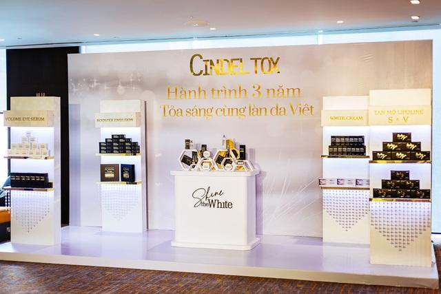 Thương hiệu Cindel Tox tổ chức sự kiện kỷ niệm 3 năm thành lập hoành tráng tại TP.HCM - Ảnh 3.
