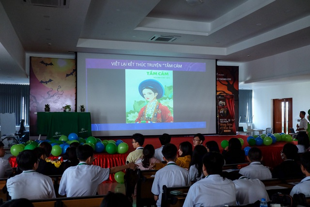 Học sinh Fschool Cần Thơ thỏa sức sáng tạo trong giờ học văn - ảnh 5