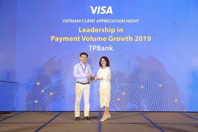 TPBank nằm trong Top 3 ngân hàng có tốc độ tăng trưởng doanh số giao dịch thẻ Visa cao nhất - Ảnh 1.
