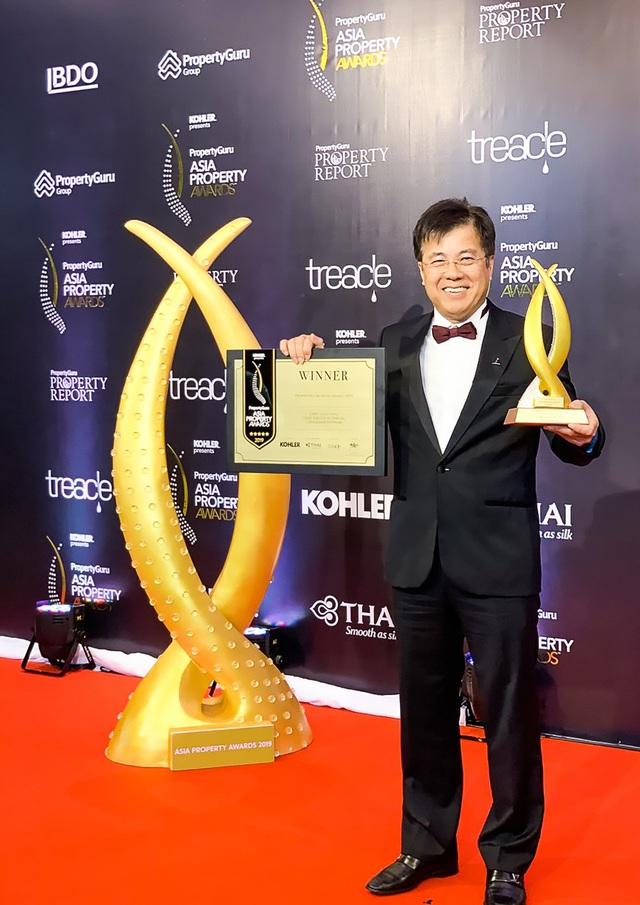 CEO CapitaLand Việt Nam được vinh danh Nhân vật BĐS của năm 2019 - Ảnh 1.