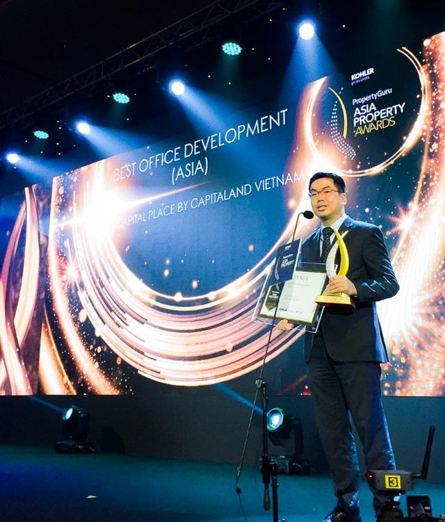 CEO CapitaLand Việt Nam được vinh danh Nhân vật BĐS của năm 2019 - Ảnh 2.