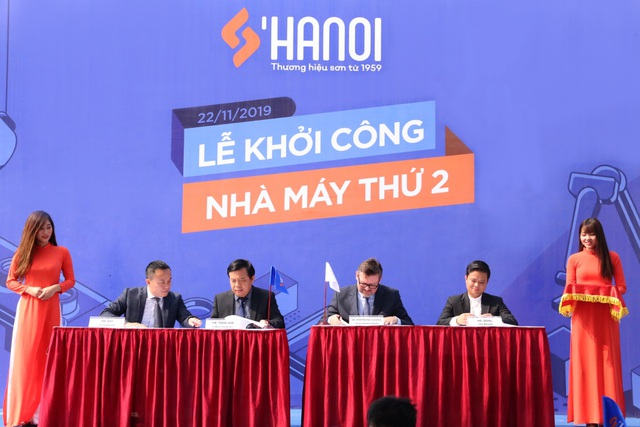 Sơn Hà Nội từng bước thực hiện tham vọng Quốc tế hóa thương hiệu sơn Việt - Ảnh 2.