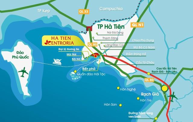 Sở hữu chợ đêm - giáp biển - trung tâm thành phố: Ha Tien Centroria công phá thị trường nhà phố thương mại - Ảnh 1.