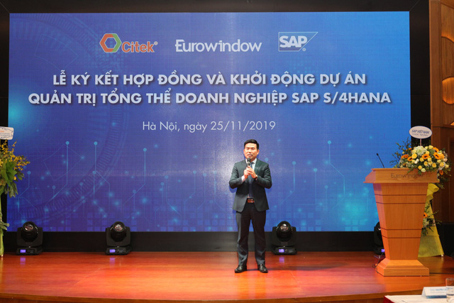 CITEK và Eurowindow khởi động dự án SAP S/4HANA hướng đến xây dựng doanh nghiệp số thông minh trong quản trị và điều hành - Ảnh 2.