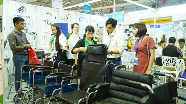 Quy tụ những sản phẩm đổi mới về công nghệ tại VietNam Medi-pharm Expo 2019 - Ảnh 1.