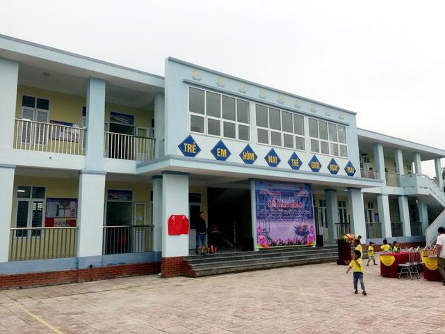 PV GAS tham gia tài trợ xây dựng công trình Trường Mầm non Hà Tĩnh - Ảnh 2.