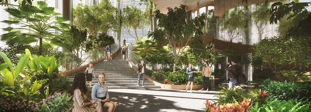 Dự án căn hộ hạng sang tại quận 7 sở hữu 99 khu vườn nhiệt đới trong lòng các tòa tháp - Ảnh 3.