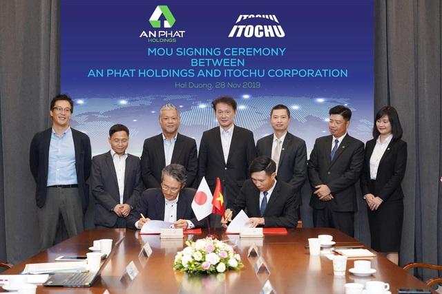 Tập đoàn An Phát Holdings kí kết hợp tác toàn diện với tập đoàn Itochu - Ảnh 2.