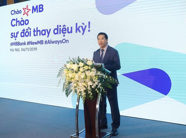 300 điểm giao dịch của MB có nhận diện mới - Ảnh 1.