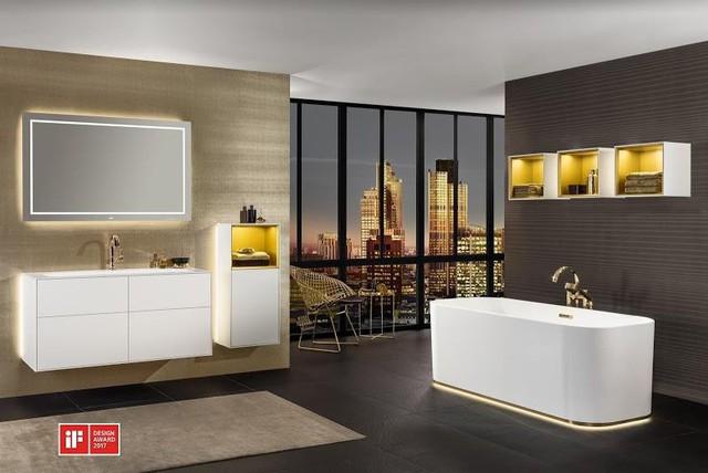 5 xu hướng không gian phòng tắm ấn tượng - Ảnh 2.
