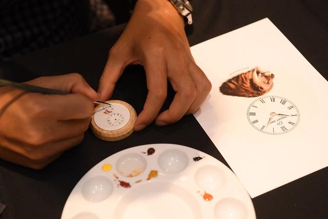 Jaquet Droz ra mắt đồng hồ Vịnh Hạ Long độc bản tại workshop nghệ thuật tiểu họa - Ảnh 7.