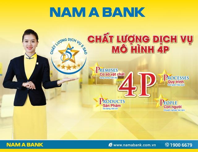 Nam A Bank với chiến lược nâng tầm chất lượng dịch vụ 5 sao - Ảnh 1.