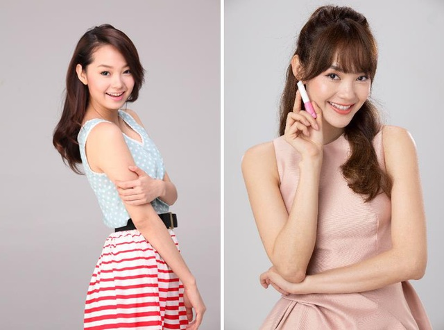 Cư dân mạng hào hứng chia sẻ hình ảnh của Minh Hằng từ thời Sắc môi em hồng đến quảng cáo son mới - ảnh 7