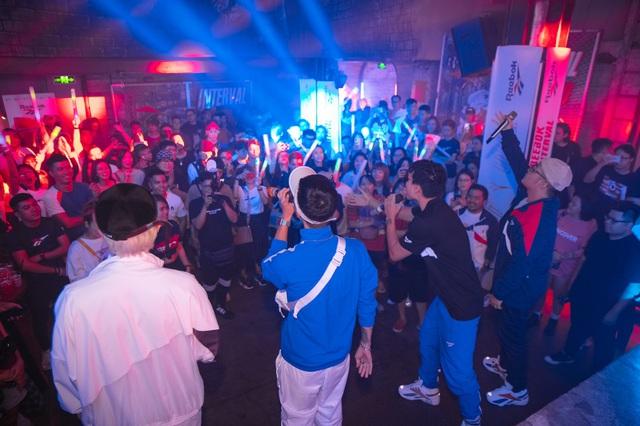 Reebok Interval Night: Náo nhiệt với sneakers, thời trang và âm nhạc cho giới trẻ thành thị - ảnh 7