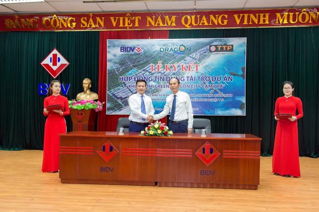 Tập đoàn TTP ký kết hợp tác với BIDV Quảng Ninh - Ảnh 2.