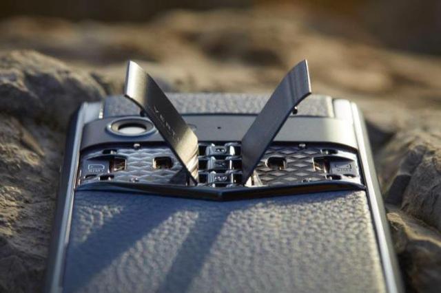 Điện thoại thông minh Aster P – Sự trở lại của thương hiệu Vertu - Ảnh 3.